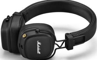 Обзор Marshall Major IV Bluetooth