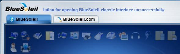 Программное обеспечение от компании BlueSoleil