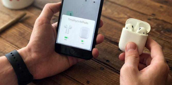 AirPods 2 с iPhone