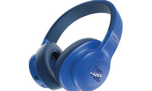 Синие JBL-E55BT