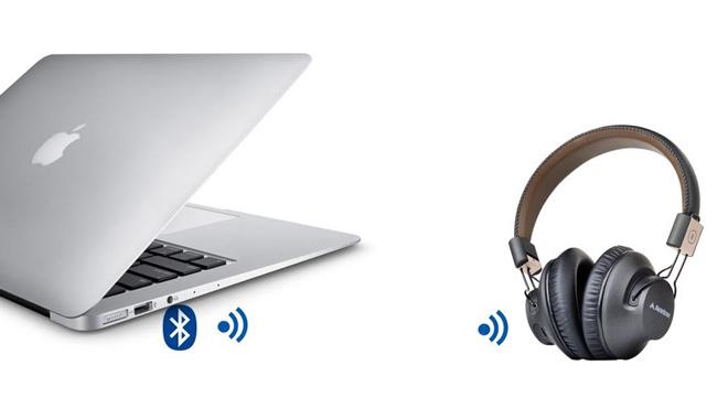 Подключение блютуз наушников к ноутбуку и компьютеру