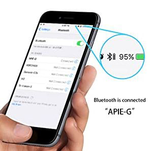 Уровень заряда наушников в телефоне