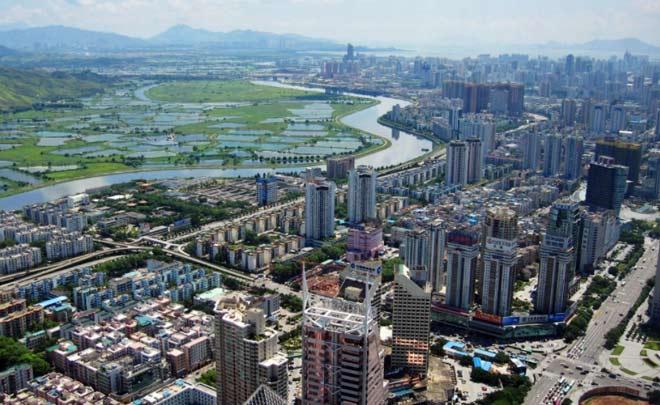 Guangdong город в Китае